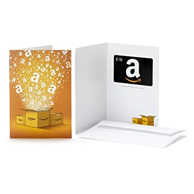 £10 Amazon.co.uk Paper Gift Card - FREE One-Day Delivery