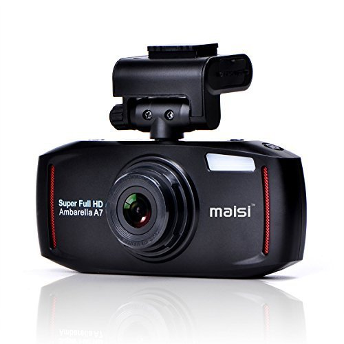MAISI 2K Full HD Color Car Dashboard (Black)