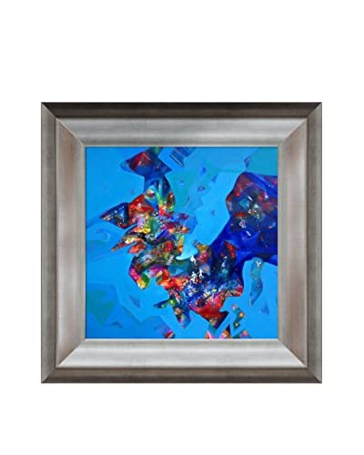 Sanjay Punekar Power II Framed Canvas Print