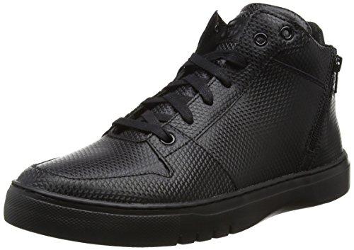 Creative Recreation Men's Adonis Mid Fashion Sneaker, Black/Black, 10.5 M US