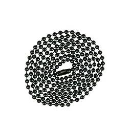 Jandorf Beaded Chain 3\' Black Orrco Lighting 60371 740265603713