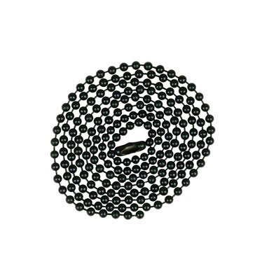 Orrco (Jandorf) 60371 Beaded Chain 3' Black
