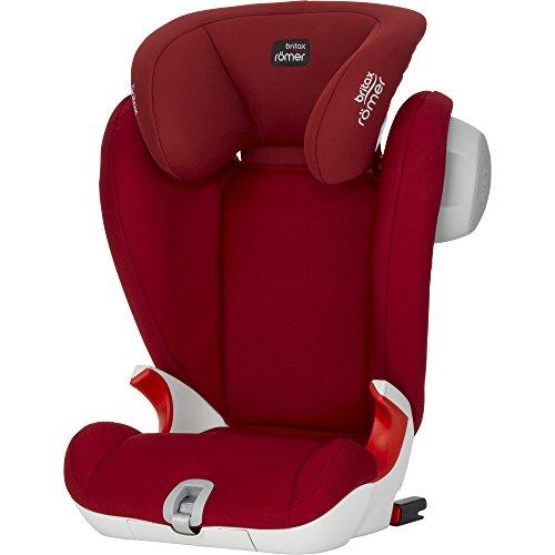 Britax-Romer 2000022478 Kidfix SL Sict Seggiolino Auto, Rosso (Flame Red)