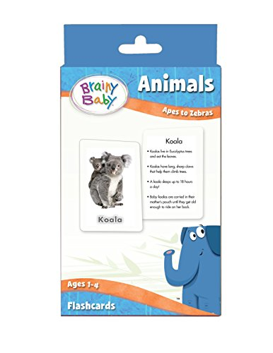 Brainy-Baby-Animals-Flash-Cards-Set-Apes-to-Zebras-Deluxe-Edition