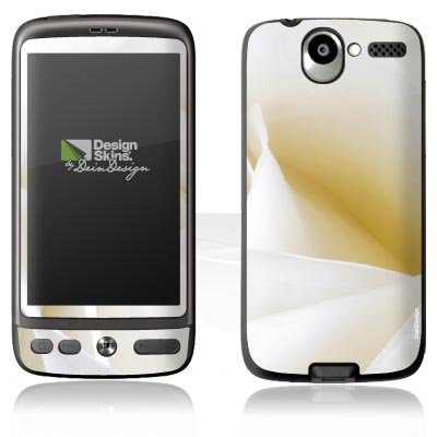 Design Skins für HTC Desire - White Rose Design Folie Elektronik