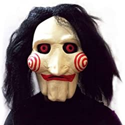 KINGMAS® Halloween Mask Movie Jigsaw Puppet - Full Mask Head Latex
