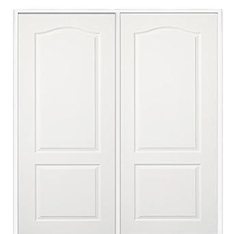 National Door Z009484r Wood Prehung Right Hand In Swing Interior Double Door Princeton Solid