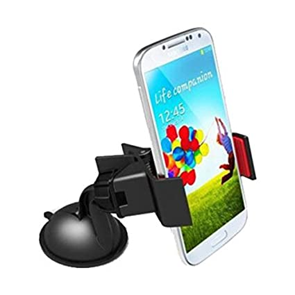 Upto 70% Off On Car & Motorbike Accessories By Amazon | Retina 2768 360-Degree Rotating Mobile Holder (Black) @ Rs.72