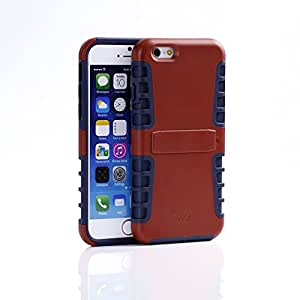 WaKase Shield II--case for iPhone 6 (Glamorous Red/Midnight Blue)