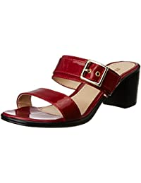 Bata Women's Liza Red Slippers - 3 UK/India (36 EU)(7715712)