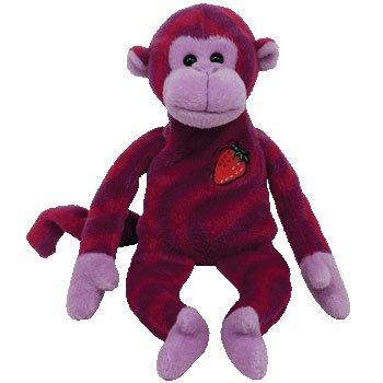 ty-beanie-baby-l-esclusivo-twisty-walgreens-twizzlers-scimmia-22-cm