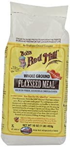 One 16 oz Bob's Red Mill Flaxseed Meal
