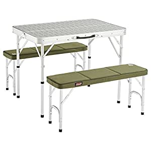 Coleman Pack - away Tabler - 4, Silver