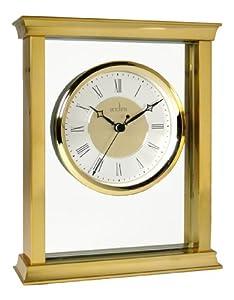 Acctim 36438 Berwick - Reloj de mesa, color dorado por Acctim