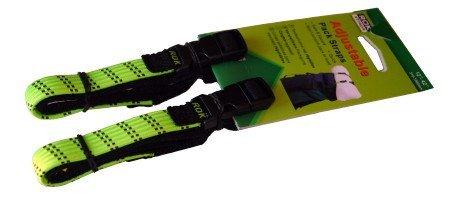 "ROK Straps 12""-42"" Adjustable Loop-Thru-2PK Lime"