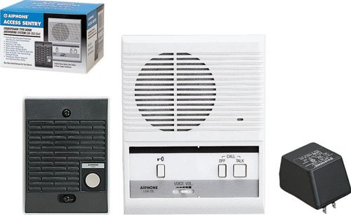Aiphone Lem-1Dls Single-Door Access Sentry System Starter Kit With One Master Intercom front-616692