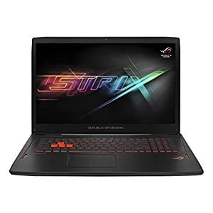 ASUS ROG Strix 17.3 inch Gaming Laptop (Intel Core i7-6700HQ 2.6 GHz, FHD 1920 x 1080 Screen, NVIDIA Pascal GTX1060 (6 GB), 16 GB, 1 TB + 128 GB SSD, Windows 10) - Black