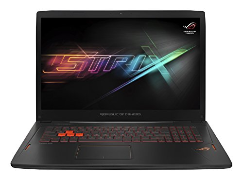ASUS ROG Strix GL702VT-GC018T 17.3-Inch Gaming Laptop (Black) - (Intel Core i7-6700HQ 2.6 GHz, 16 GB RAM, 1 TB HDD, NVIDIA GeForce GTX970M Graphics Card, Windows 10)
