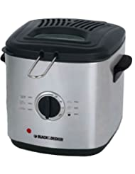 Black & Decker EF1220 1.2-Liter Deep Fryer, 220 to 240-volt by Black & Decker