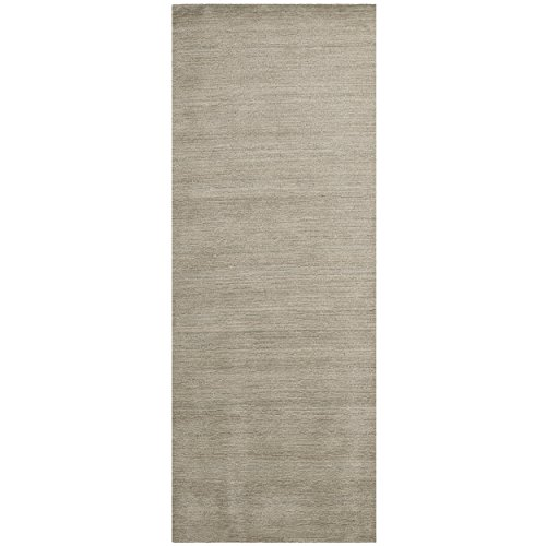 Safavieh Himalaya Collection HIM311D Handmade Grey Wool Runner, 2 feet 3 inches by 6 feet (2'3