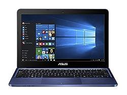 Asus E200HA-FD0004TS 11.6-inch Laptop (Atom x5-Z8300/2GB/32GB/Windows 10/Integrated Graphics), Blue