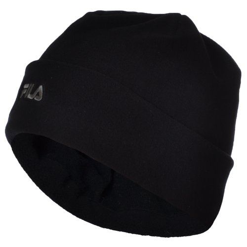fila-da-donna-in-pile-termico-invernale-turn-up-beanie-cappello-black-m