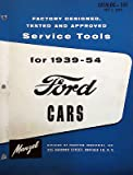 1939-1954 Manzel Factory Service Tools - Ford Cars catalog