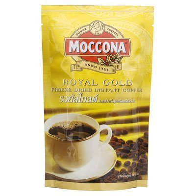 Moccona Royal Gold Premium Instant Coffee Stand Pack 50g.