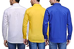 Feed Up Combo of 3 Men's Shirts