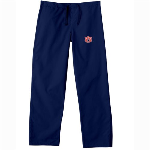 GelScrubs Auburn Tigers NCAA Classic Scrub Pant - Navy at Amazon.com