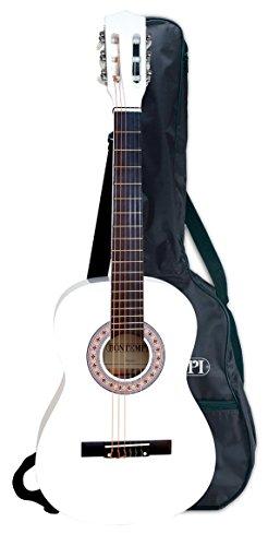 Bontempi - GSW92.3/BL - Guitare classique - 3/4 en tilleul - Blanc laqué