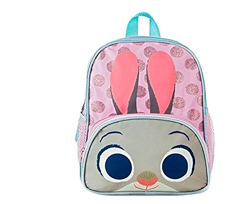 "Disney Zootopia Rabbit Backpack Childrens 13"" School Girls Back Pack"