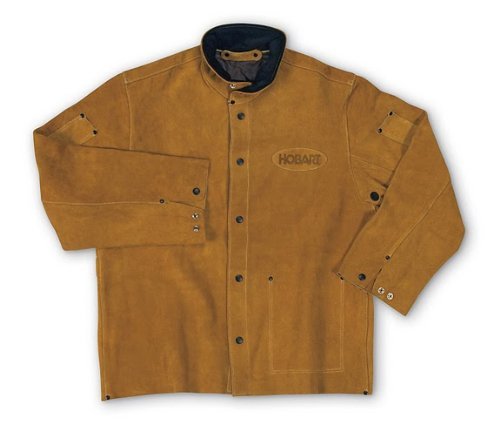 Review Hobart 770488 Leather Welding Jacket - L