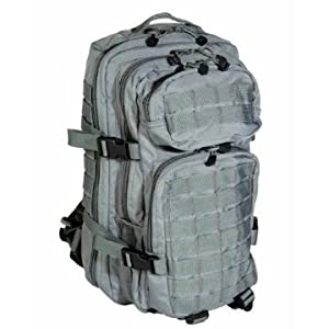Mil-Tec Military Army Patrol MOLLE Assault Pack Tactical Combat Rucksack Backpack 30L Foliage
