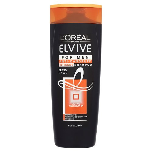 Elvive Men, Shampoo intensivo antiforfora 400 ml - 6 pz.