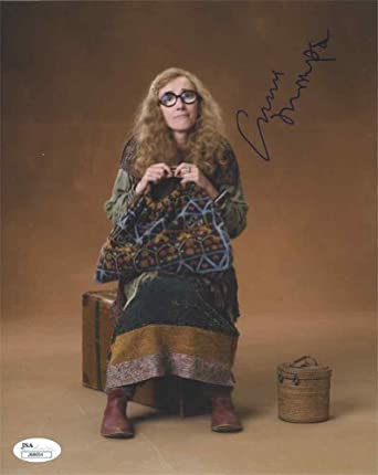Emma Thompson Harry Potter Signed 8x10 Photo Certified Authentic JSA