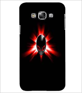 PrintDhaba Mask D-1994 Back Case Cover for SAMSUNG GALAXY E7 (Multi-Coloured)