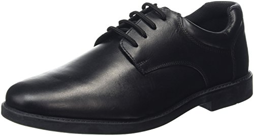 Hush Puppies Tim , Stivali Ragazzi, Nero (Black), 34