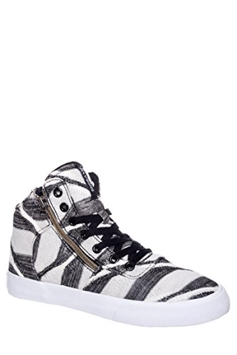 Cuttler Striped Mid Top Sneaker