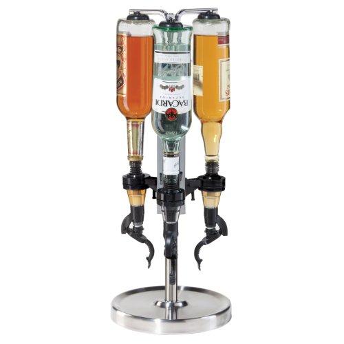 Oggi Professional 3-Bottle Revolving Liquor Dispenser (Drink Dispenser Liquor compare prices)