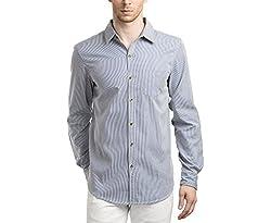 Scotchtree Men's Shirt (sco_021_Blue_Medium)