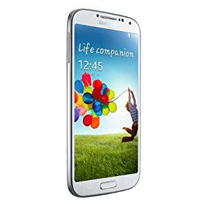 Samsung Galaxy S IV/S4 GT-I9500 Factory Unlocked Phone - International Version (White)
