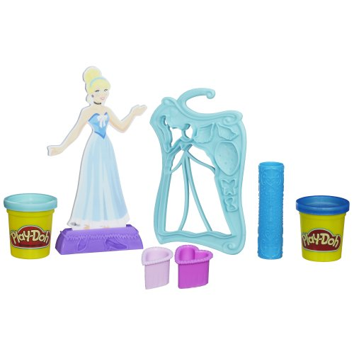 Play-Doh Design-a-Dress Fashion Kit Featuring Disney Princess Cinderella