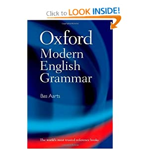 oxford modern english grammar bas aarts 9780199533190