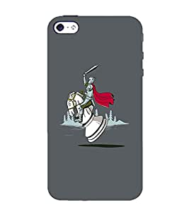 EPICCASE Chess horse Mobile Back Case Cover For Apple iPhone 4/4s (Designer Case)