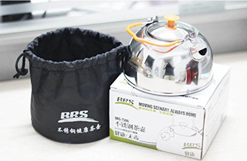 Camping Stainless Steel Teapot Camping Outdoor Cookware