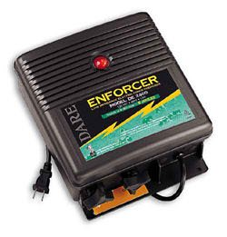 Dare Enforcer Ultra Low Impedance Fence Energizer - 10-Joule Charger