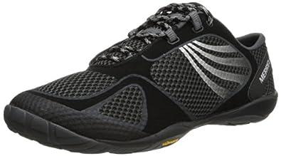 Merrell Women's Pace Glove 2 Trail Running Shoe,Black/Silver,6 M US