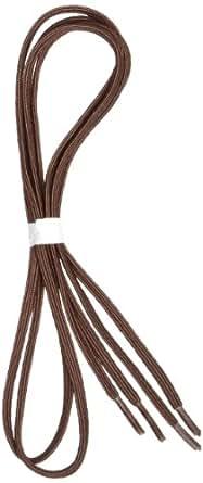 """Perma-Ty 738150030 30"""" Brown Elastic Shoelaces (Pack of 3 Pairs)"""