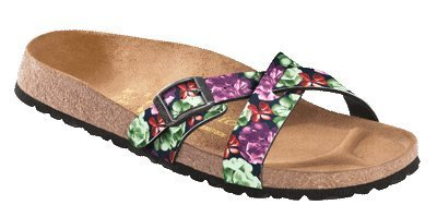Papillio By Birkenstock Catania, Sandali da donna, (Photo Print Blue), S